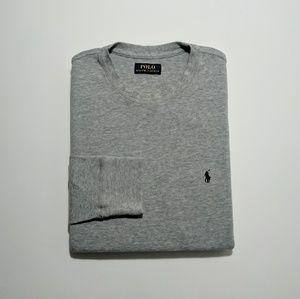 Ralph Lauren Waffle Knit Long Sleeve Shirt Medium